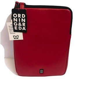 Ordning & Reda IPad leather Case red 11""